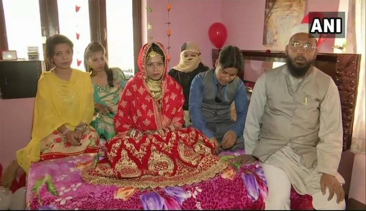 Muslim family adopts Hindu boy, raises him and conducts his