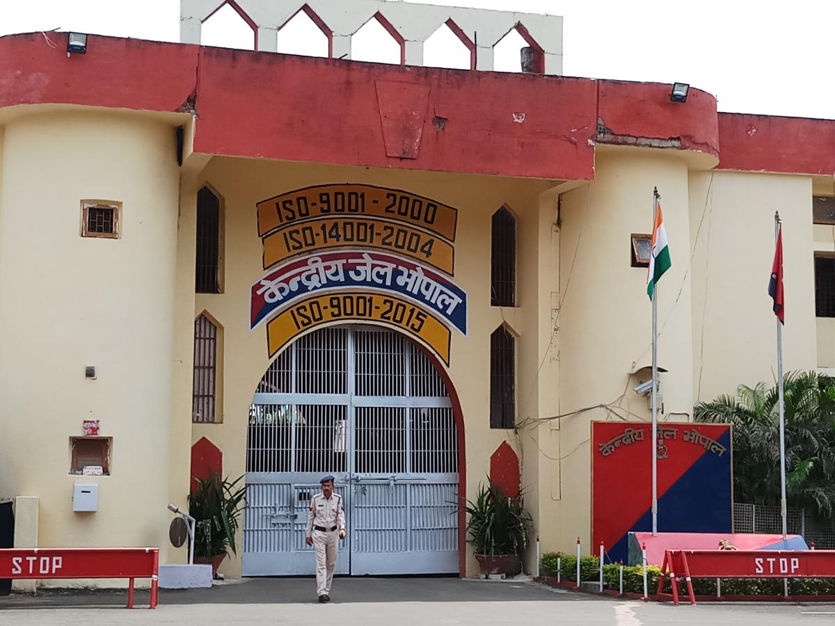 Bhopal jail break