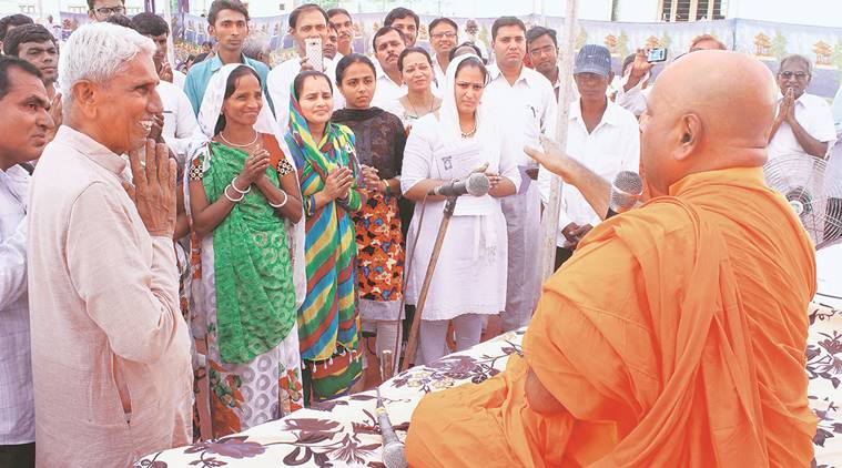 Dalit converted to buddhism