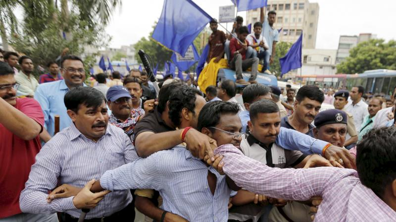 Dalit Protest