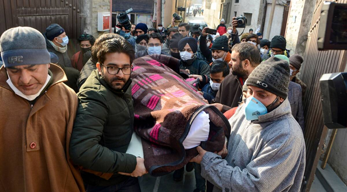 A 70-year-old jeweller has become the first person to be killed in Kashmir