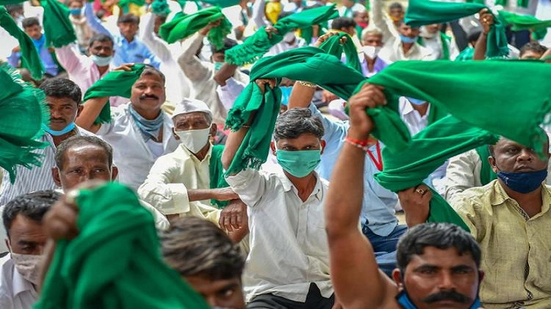 South India Farmer protest