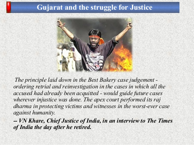 Gujarat and the struggle for Justice