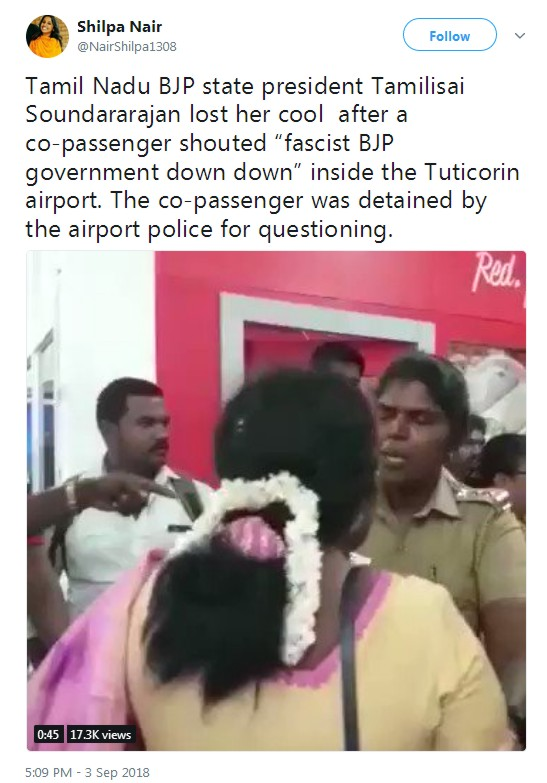 Student arrested for shouting anti-BJP slogans in TN   SabrangIndia
