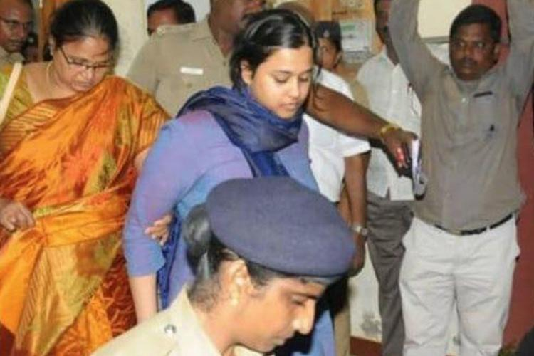 Student who shouted anti-BJP slogans at TN airport, granted bail