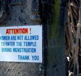 prejudice against menstruation