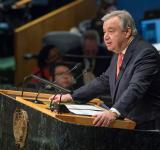 Antonio Guterres, the Secretary General of the United Nations