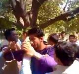 Muslim student beaten by BJP
