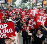Mass protests, Hong Kong