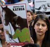 Kathua Rape protest