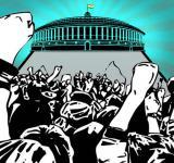 Mazdoor Kisan Sangharsh Rally
