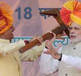 Modi and farmers