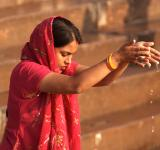 Indian Women Praying