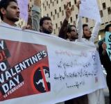 Valentine day ban in pakistan