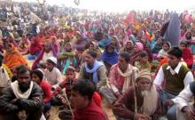 Tribals protest