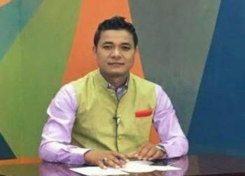 Kishorechandra Wangkhem, an Imphal based journalist,
