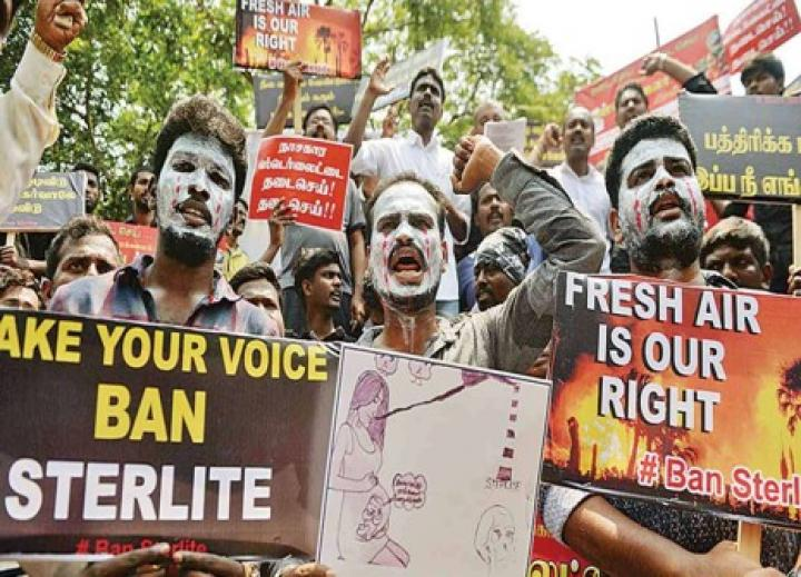 Anti-Sterlite protest