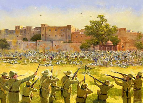 Write a short paragraph on Jallianwala Bagh Massacre