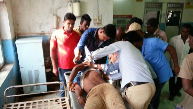 Adivasis Fired On By Jharkand Cops